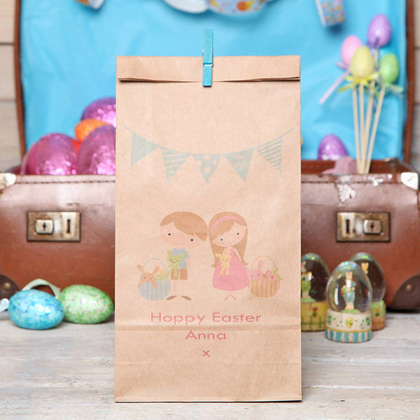 Personalised Easter Bunting Gift Bag