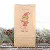 Personalised Christmas Boy Or Girl Elf Gift Bag