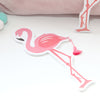 Pink Flamingo Emery Board With Tassel, Two Colourways