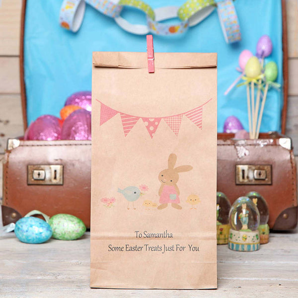 Personalised Easter Friends Gift Bag