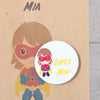 Personalised Girl Superhero Party Bags