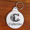 Personalised Initial Key Ring