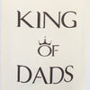 Personalised Father's Day King Of Dads Bottle Bag