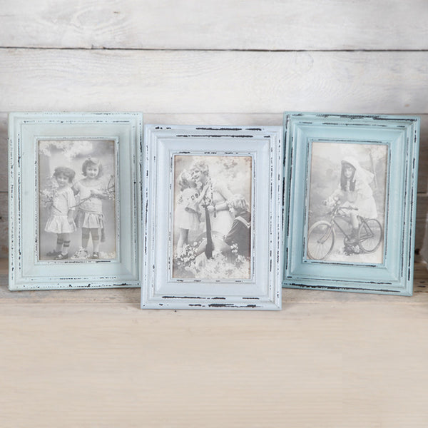 Wooden Vintage Style Photo Frames