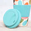 Leaf Print Bamboo Travel Cup