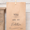Personalised You Are My Lobster Bag