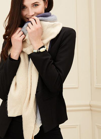 Plush Ombre Long Scarf, Various Colours