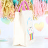 Personalised Rainbow Canvas Bag With Rope Handles