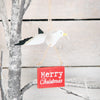 Seagull Merry Christmas Tree Decoration