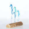 Seahorses On Driftwood Decoration