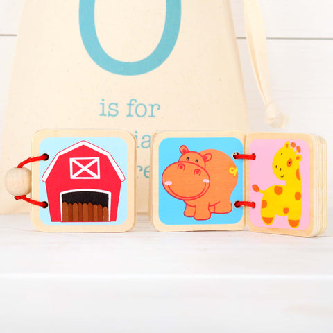Two Mini Picture Books And Personalised Bag