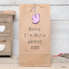 Personalised Nuts About You Bag