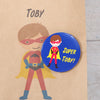 Personalised Boy Superhero Party Bags