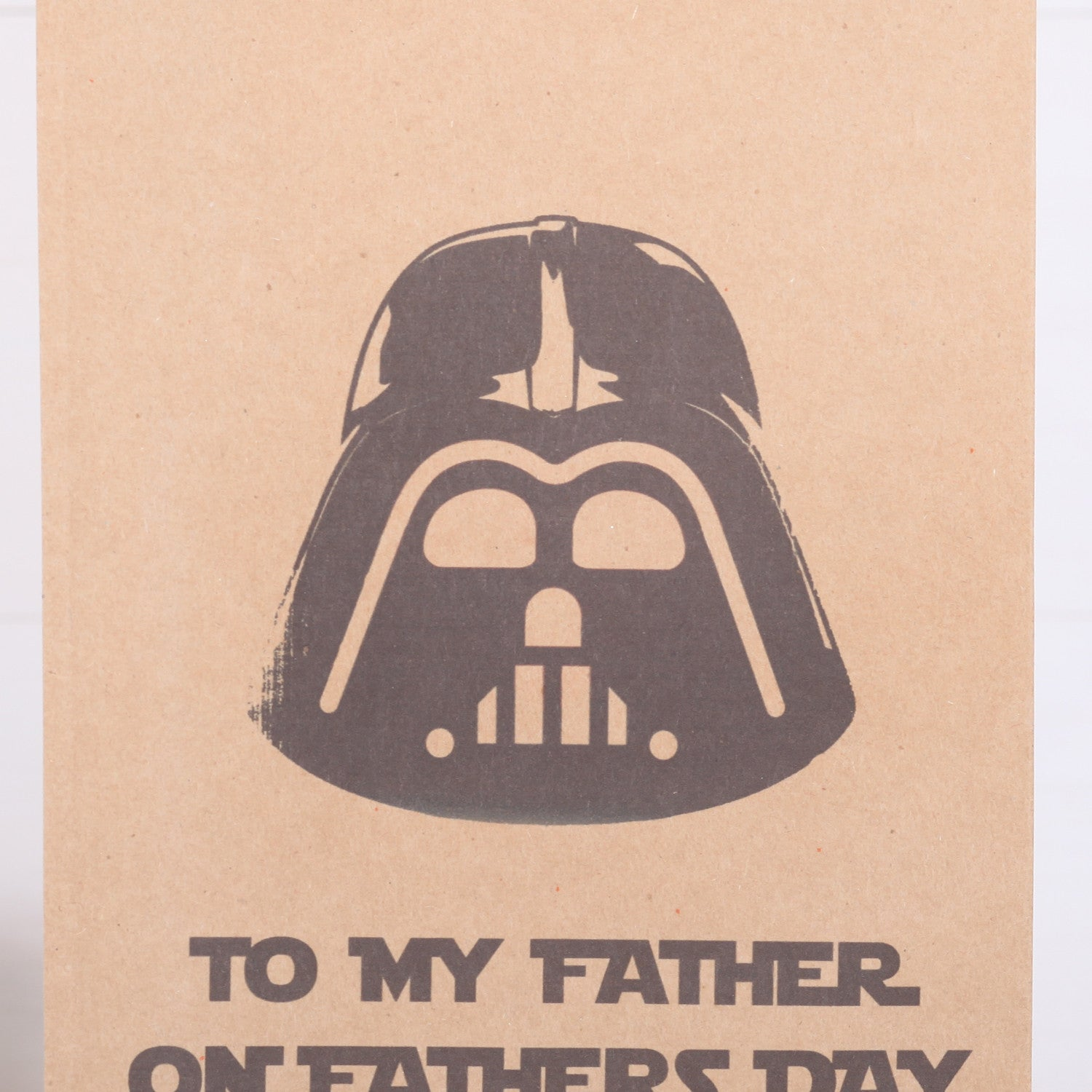 Personalised Darth Vadar Fathers Day Or Birthday Gift Bag