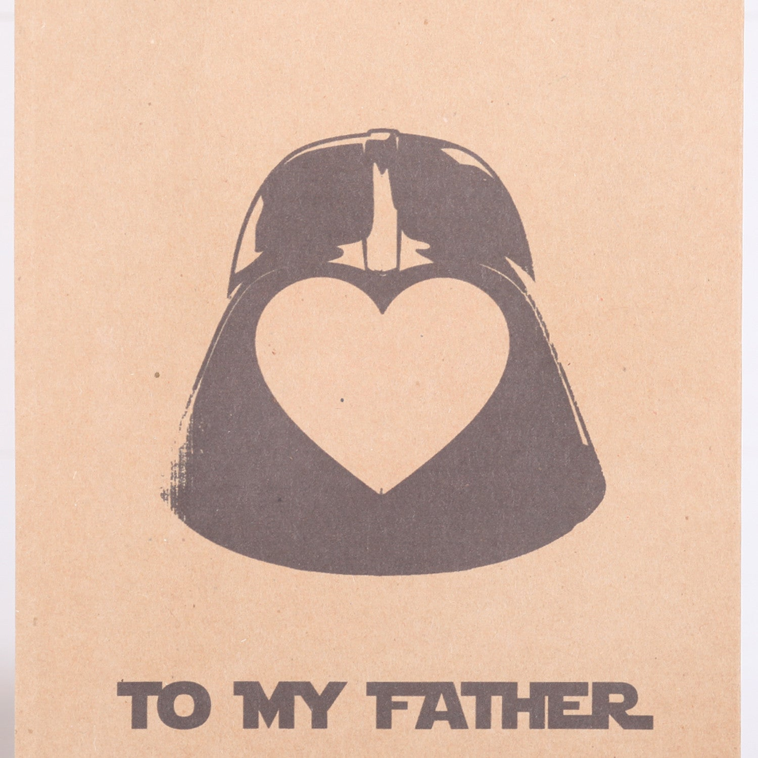Personalised Love Heart Star Wars Fathers Day Or Birthday Gift Bag