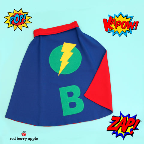 Personalised Superhero Flash Cape