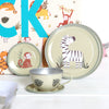 Safari Tin Tea Set With Personalised Carry Case