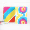 Tie Dye Fabric Notebook, Two Sizes