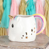 Unicorn Mug with Tail Handle and Star Spoon Gift