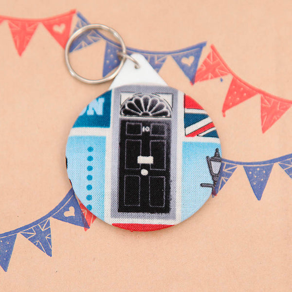 British, London, Keyring