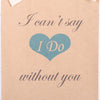 Will You Be My Bridesmaid Personalised Gift Bag