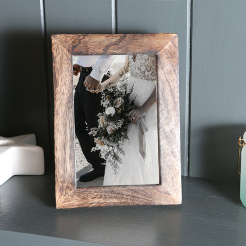 Dark Wood Picture Frame