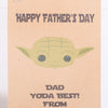 Personalised Yoda Father's Day Gift Bag