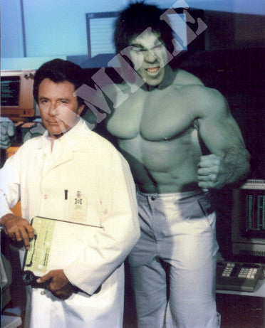 LOU FERRIGNO & BILL BIXBY – LAB COAT