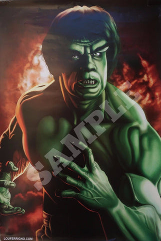 PAINTING OF THE HULK POSTER