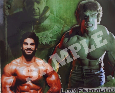 Lou and The Hulk
