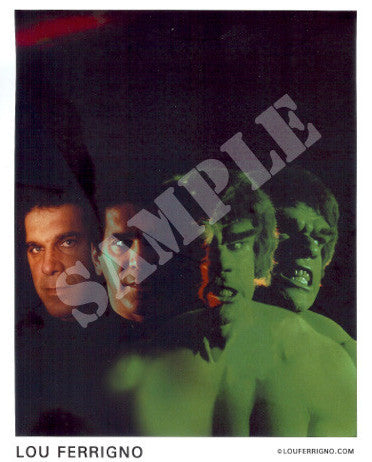 LOU FERRIGNO HULK TRANSFORMATION
