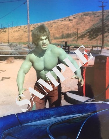 THE HULK IN THE DESERT