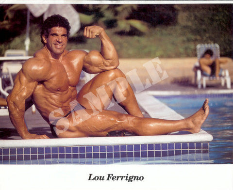LOU FERRIGNO POOL SITTING