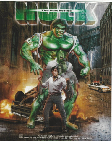 Hulk/Bill Bixby Transformation