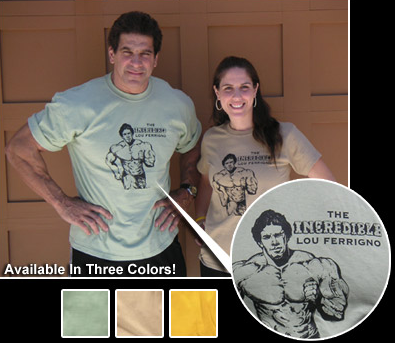 THE INCREDIBLE LOU FERRIGNO T-SHIRT