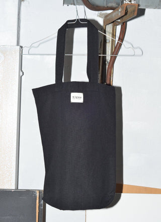 By Signe organic cotton tote bag black