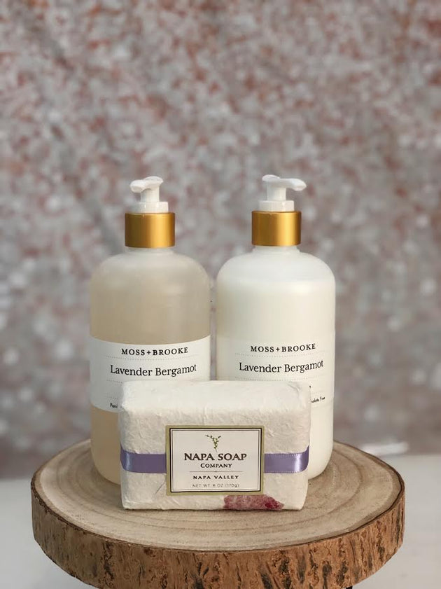 Lavender Soap and Lotion Kit