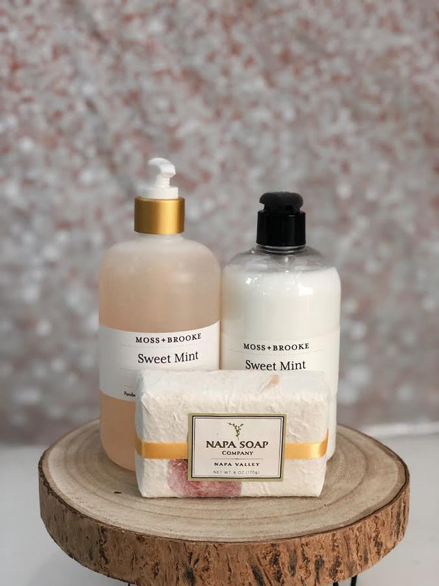 Sweet Mint Soap and Lotion