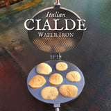 Italian Cialde Wafer Iron Deluxe Collection