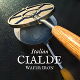 Custom Name Cialde Wafer Iron