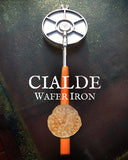 Italian Cialde Wafer Iron