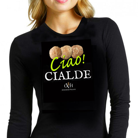 Ciao! Cialde Long Sleeve Women's Tee