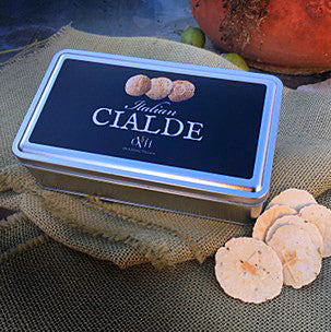 Cialde Wafer Silver Metal Tin