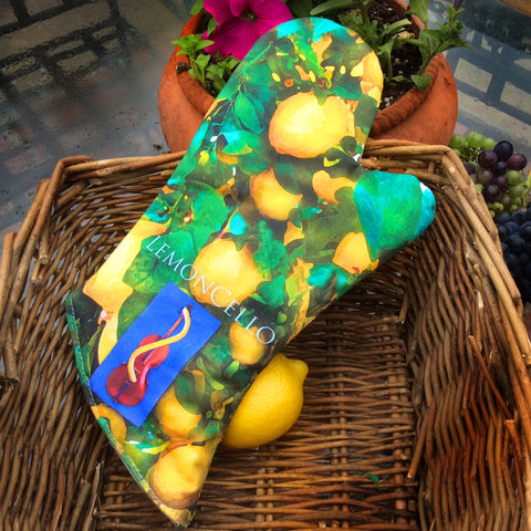 LemonCello Oven Mitt & Pot Holder Set