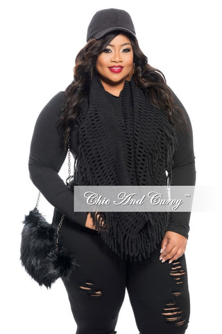 Final Sale Plus Size Faux Leather Fanny Pack in Black Snake Skin