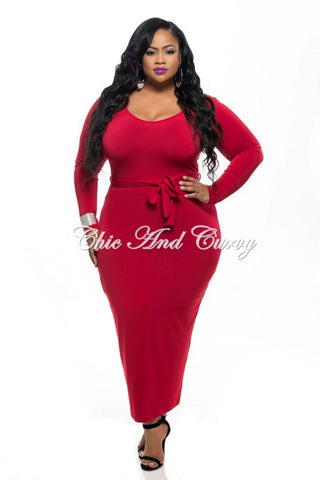 final sale plus size bodycon dress with faux wrap peplum top in
