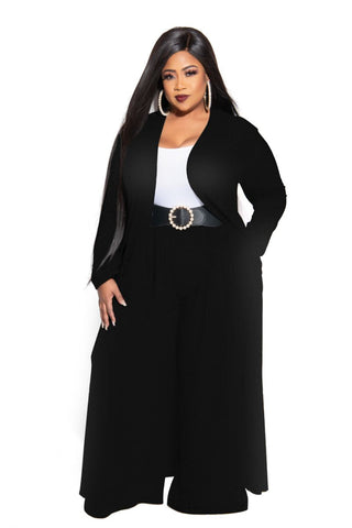 Final Sale Plus Size Chic And Curvy Exclusive Ruched Maxi Dress in White