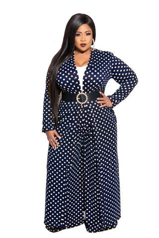 New Plus Size Bell Sleeve Crop Tie Top in Blue Floral Print