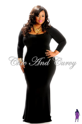 Final Sale  Plus Size BodyCon Dress with Keyhole and Gold Embellishments in Red