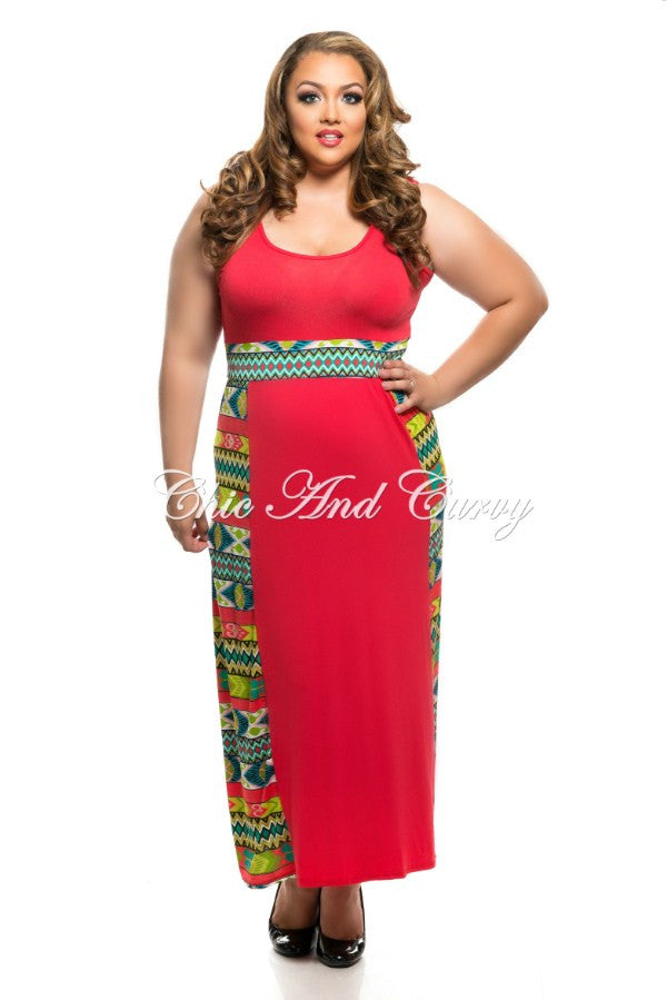 New Plus Size Long Sleevless BodyCon Maxi with Skirt Waist and ...